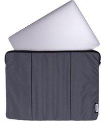 estuche laptop gris
