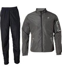 conjunto gris topper pro men