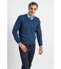 sweater azul oxford polo club jaguar