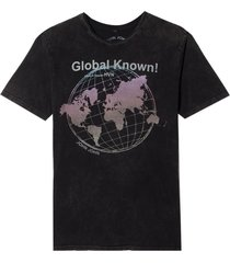 camiseta john john rg global known malha cinza masculina (cinza chumbo, gg)