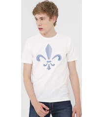 camiseta dudalina dudal off-white - kanui