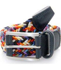 anderson's belts elastic woven belt | multi | 0667-n058