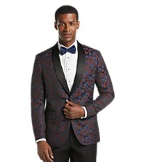 jos. a. bank slim fit floral formal dinner jacket, by jos. a. bank