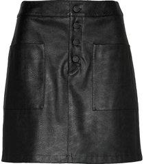 bisara kort kjol svart boss