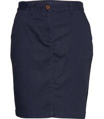 d1. classic chino skirt knälång kjol gant