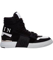 scarpe sneakers alte uomo in pelle phantom kicks