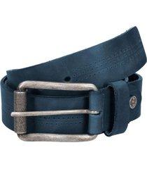 cinturón cuero hombre azul oscuro panama jack
