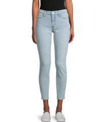hudson women's natalie ankle skinny jeans - abilene - size 32 (10-12)