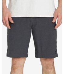"billabong men's crossfire x stretch hybrid 21"" shorts"