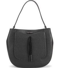 marc jacobs women's maverick leather hobo bag - blue sea