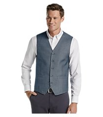 1905 collection tailored fit twill vest clearance, by jos. a. bank