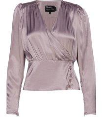 alecia blouse blouse lange mouwen paars birgitte herskind