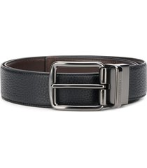 coach wide reversible belt - black