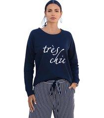 sweatshirt amy vermont zwart::wit
