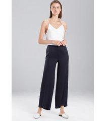 natori key pants, women's, 100% silk, size xs