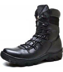 bota gh calçados coturno couro semi impermeavel