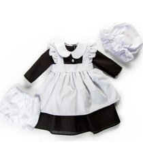 "18"" doll clothes, 4 piece scullery kitchen maid outfit, compatible with american girl dolls"