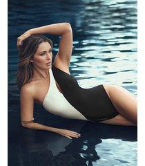salento leroux medium control one-piece swimsuit