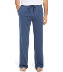 men's daniel buchler men's knit pajama pants, size xx-large - blue