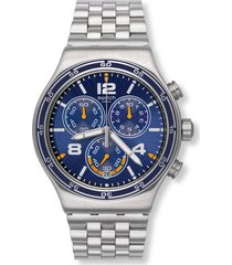 reloj swatch unisex destination barcelona/yvs430g - plateado