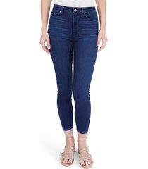 women's paige margot crop skinny jeans