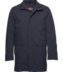 danton coat fodrad jacka blå oscar jacobson