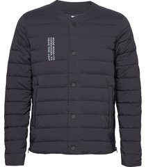keanu light padded jacket gevoerd jack blauw wood wood