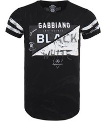 gabbiano zwart t-shirt 7431