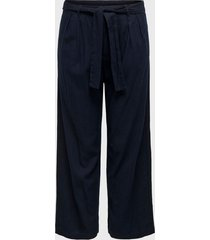 pantalón  jacqueline de yong azul - calce holgado