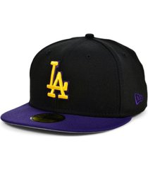 new era los angeles dodgers customs 59fifty cap