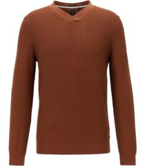 boss men's florenzo v-neck sweater