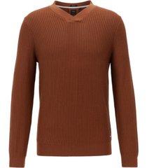 boss men's florenzo v-neck sweater