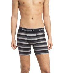 men's smartwool 150 merino wool blend boxer briefs, size x-large - grey