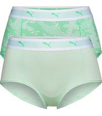 puma aop mini short 2p hang hipstertrosa underkläder grön puma