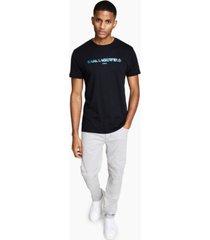 karl lagerfeld paris men's slim-fit karl foil-logo t-shirt