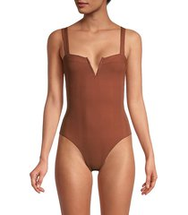 cha cha one-piece swimsuit