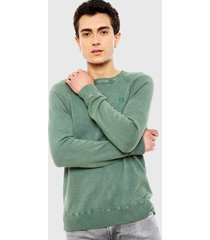 sweater pepe jeans dazed verde - calce regular
