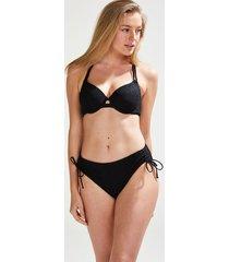 hunkemöller crochet bikinitrosa svart