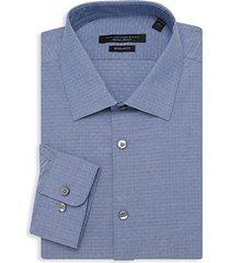 spencer regular-fit geometric dress shirt