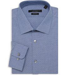 spencer regular-fit geometric dress shirt