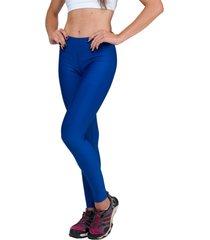 calça legging part.b básica suplex azul