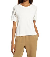women's madewell softfade cotton raglan t-shirt, size xx-small - white