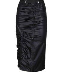 off-white black pencil skirt