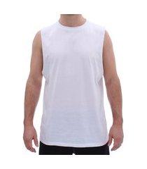 camiseta aveloz regata masculina branca