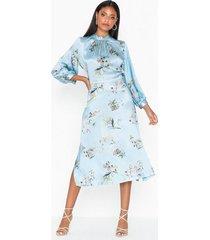 closet high neck long sleeve dress festklänningar