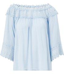 blus crbea lace blouse