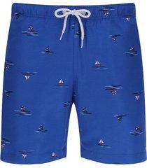 pantalóneta de baño veleros color azul, talla l