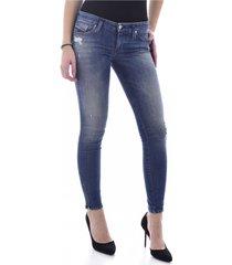 jeans skinny stretch destroy