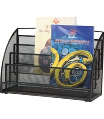 mind reader wall mounted newspaper and magazine rack