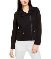 alfani zip-up moto jacket, created for macy's